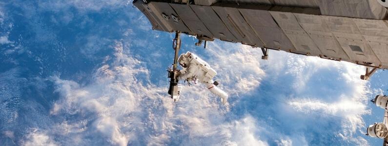 Sonhava ser astronauta!