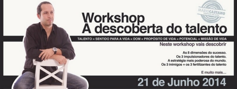 Workshop: Descoberta do Talento