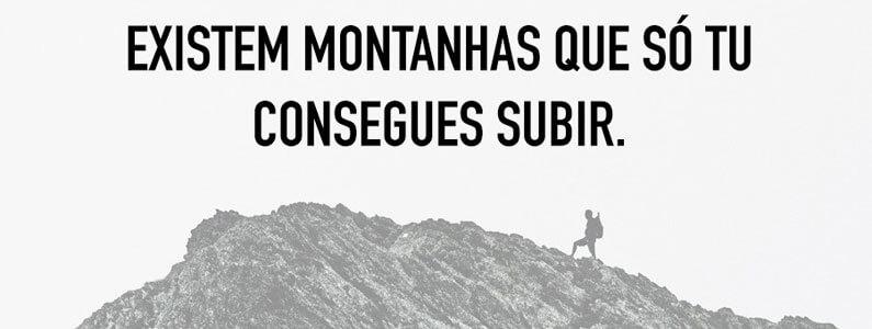 Tu consegues subir a montanha mais alta do mundo